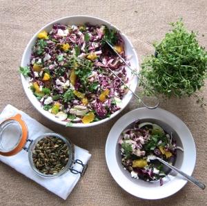 Antioxidant Rainbow Salad
