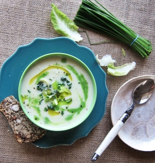 Dairy-free Leek Cauliflower